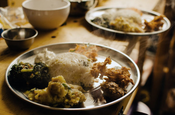 Lungi babas food