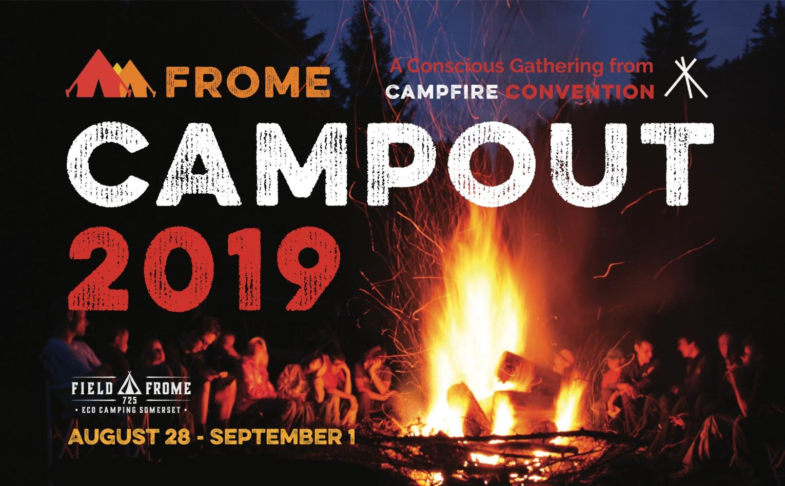Campfire Convention 2019 Frome 28 August to 1 September 2019